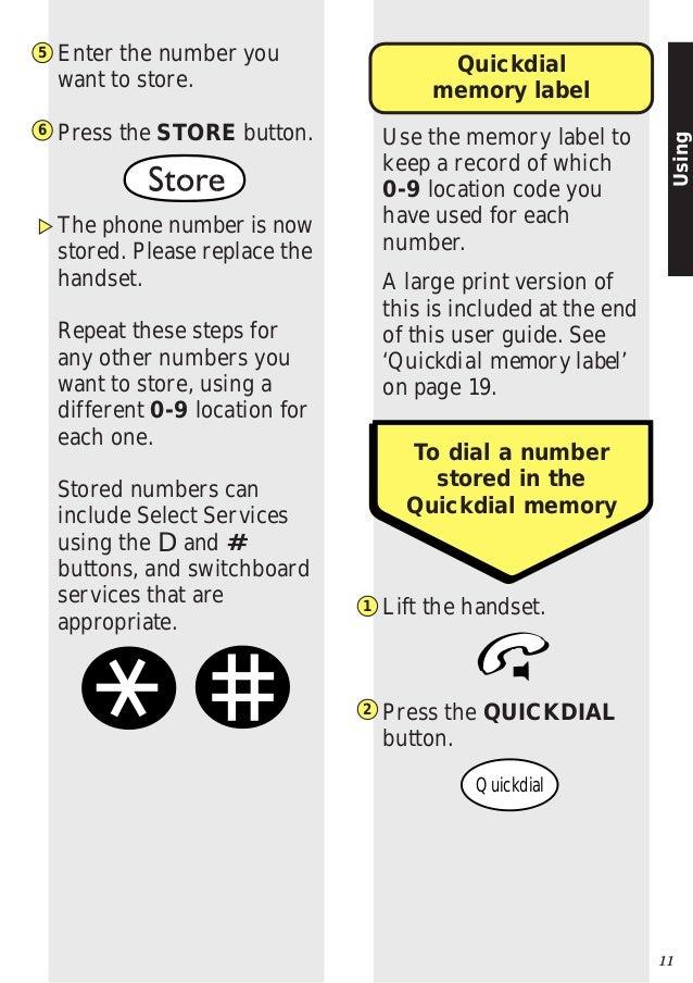 telstra big button phone manual