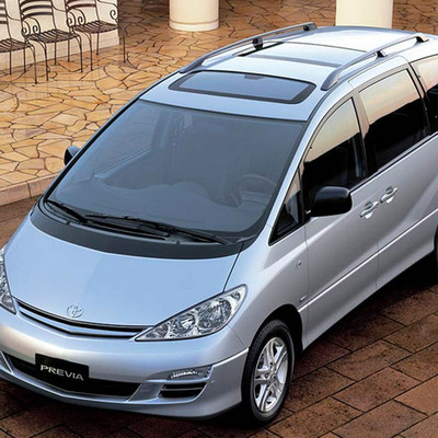 toyota previa 2001 owners manual