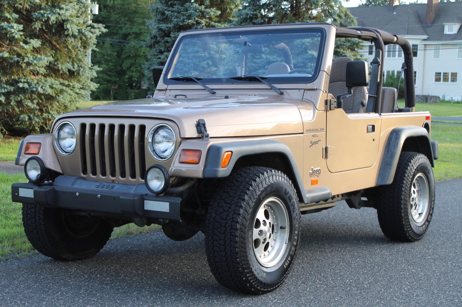 1999 jeep wrangler sport manual suv