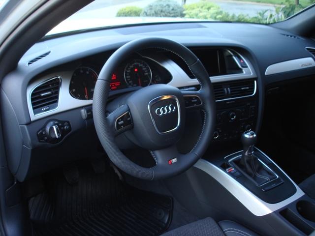 2009 audi a4 s line 6 speed manual black