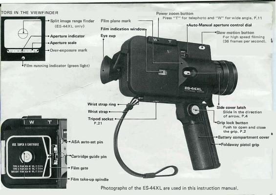 manual exposure on super 8
