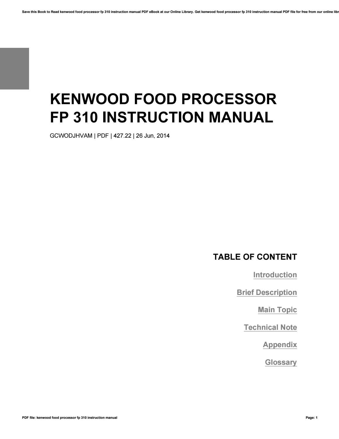 kenwood kdc-u263r user manual