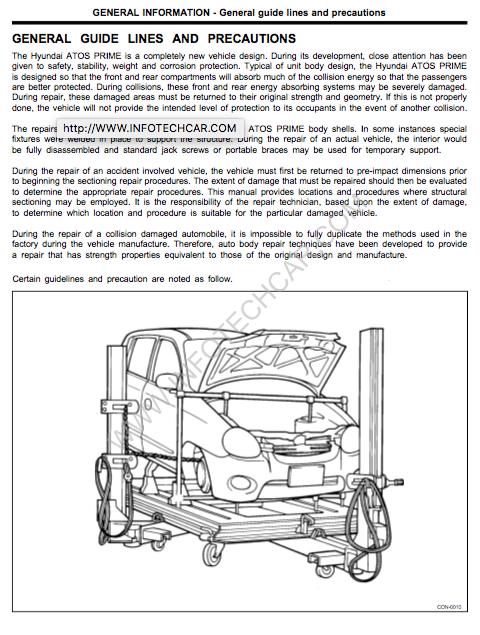 free download hyundai tucson workshop manual
