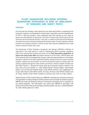 post-entry quarantine testing manual