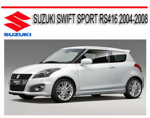 1994 suzuki swift workshop manual