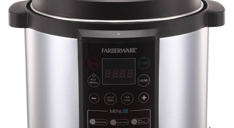 farberware pressure cooker manual pdf
