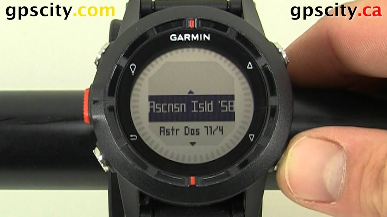 garmin fenix hiking gps watch manual