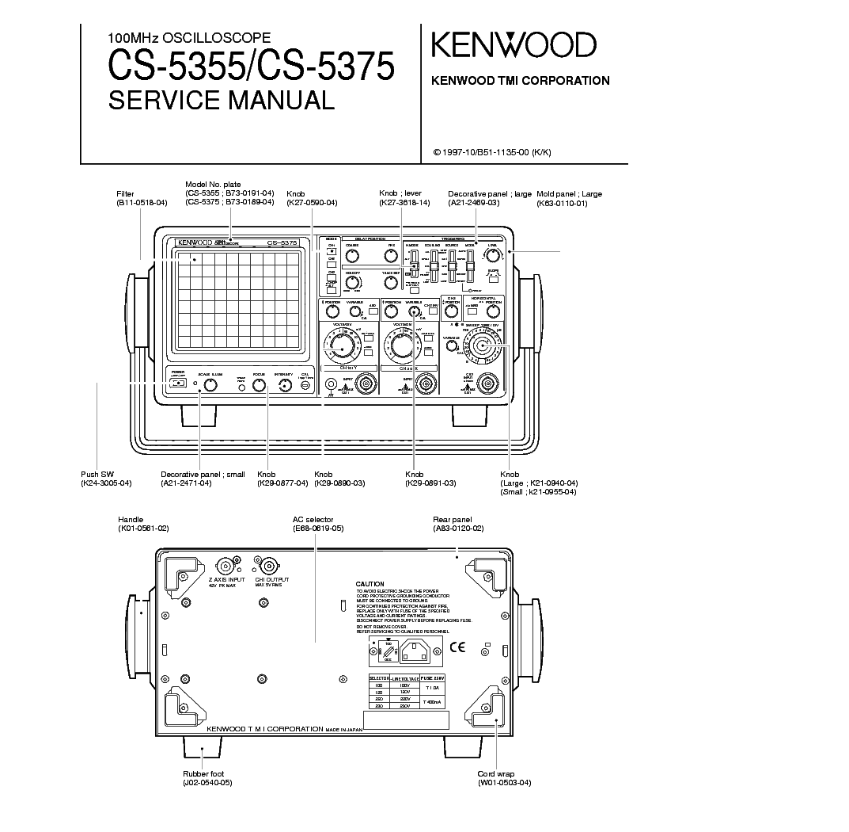 kenwood kdc-u263r user manual