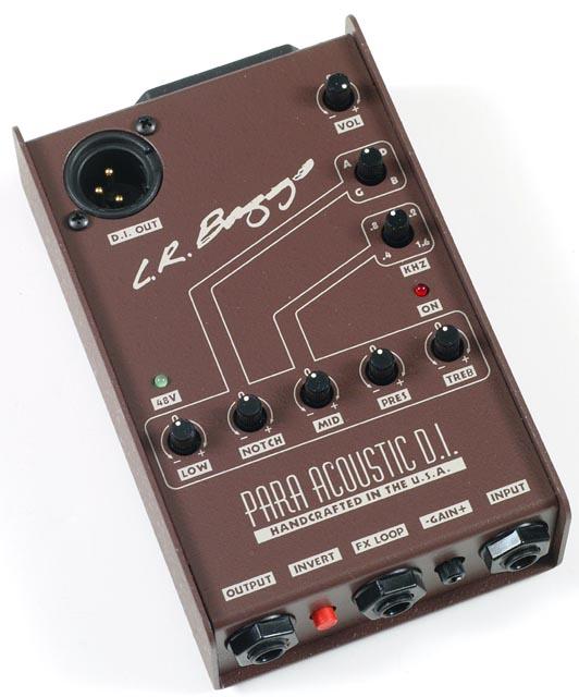 lr baggs para acoustic guitar di and preamp manual