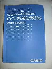 casio power graphic 2 manual