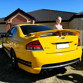 ba xr6 turbo manual for sale