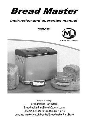 magic chef bread machine manual cbm 250