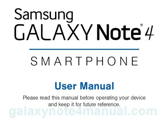 galaxy note 6 user manual