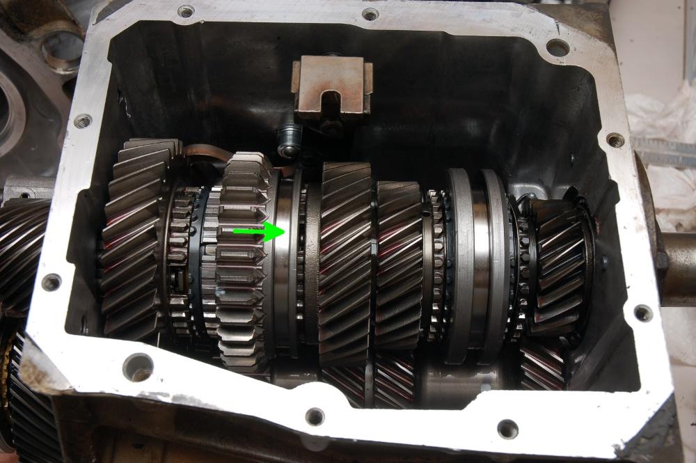 accelerating manual car high gear