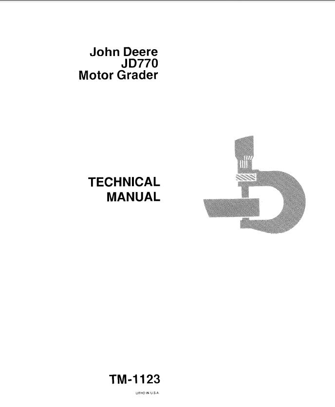 john deere la105 maintenance manual
