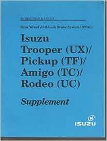 isuzu tf workshop manual free download