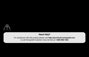 honeywell thermostat rth2510 rth2410 manual