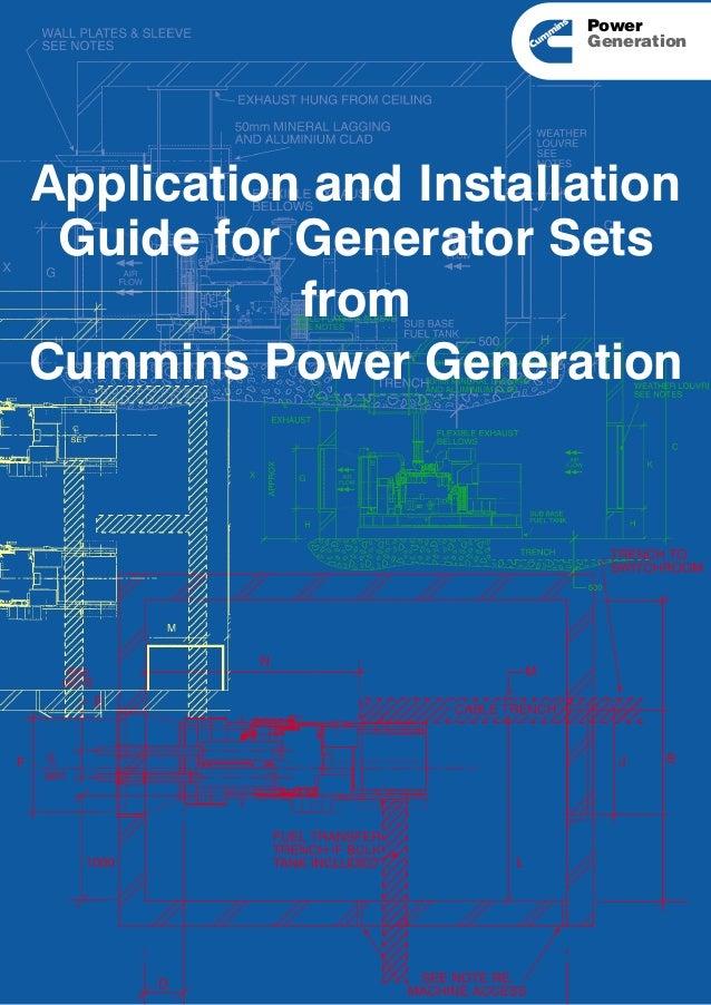 cummins power generation application manual t-011