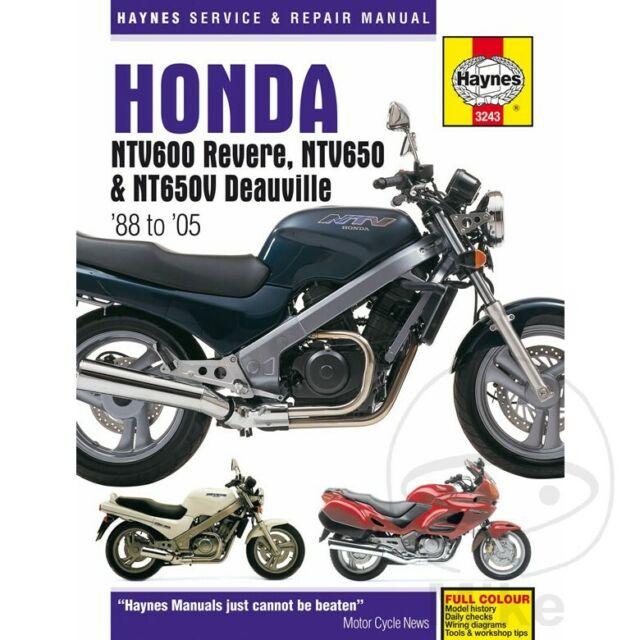 honda nt 650 deauville 2004 manual service on ebay
