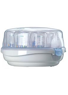 avent microwave bottle sterilizer user manual