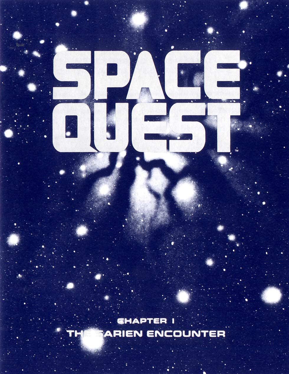 space quest 1 vga manual