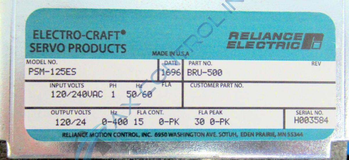electro craft bru series manual