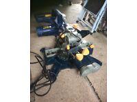 gmc 250mm slide compound mitre saw manual