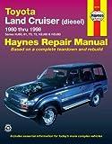 haynes manual toyota land cruiser amazon