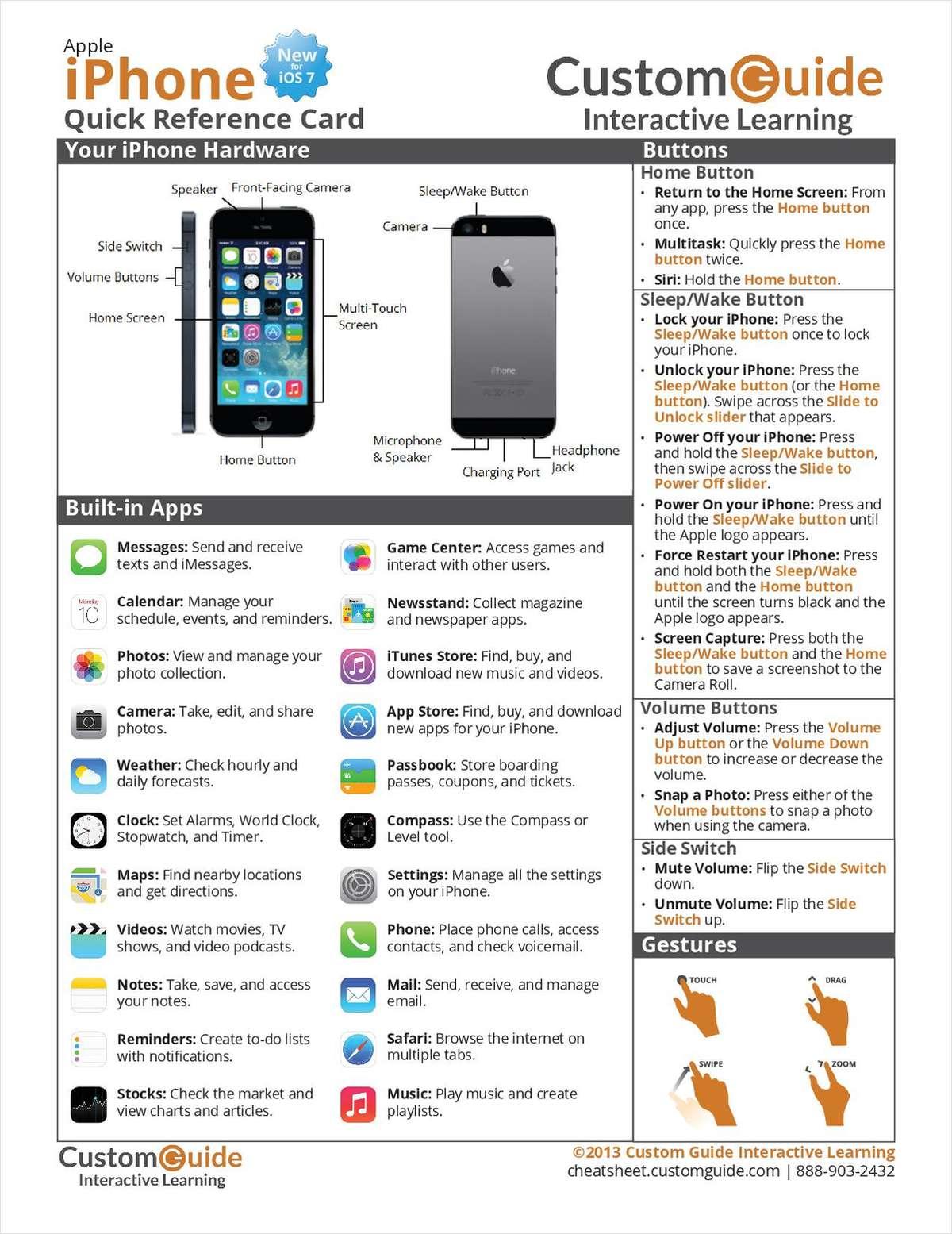 iphone 7 manual ios 11
