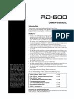 rd 700nx roland manual pdf