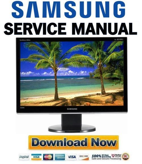samsung syncmaster e1920 repair manual