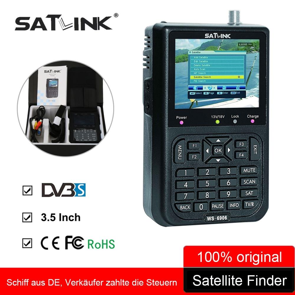 satlink ws-6906 manual satellite finder
